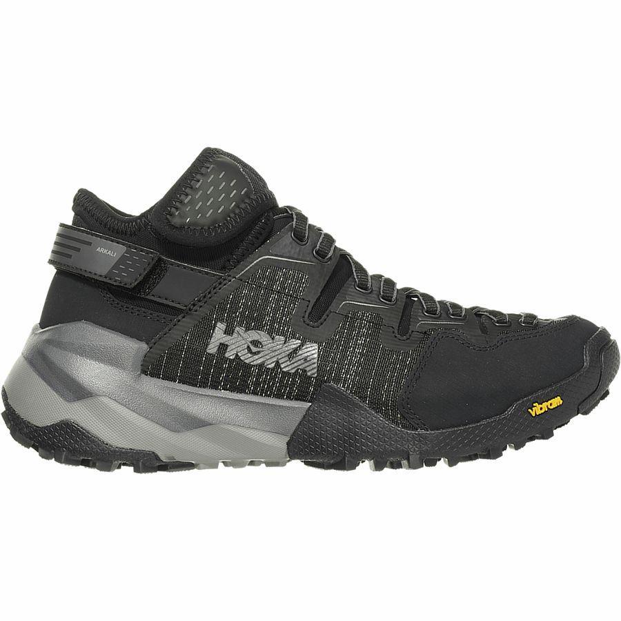 (取寄)ホカ オネ オネ レディース スカイ アルカリ ハイキングシューズ HOKA ONE ONE Women Sky Arkali Hiking Shoe Black/Reflective