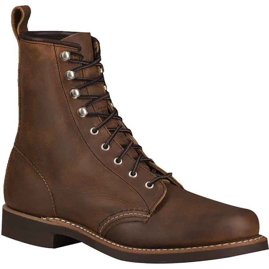(取寄)レッドウィング レディース ヘリテイジ シルバースミス ブーツ Red Wing Women Heritage Silversmith Boot Copper Rough
