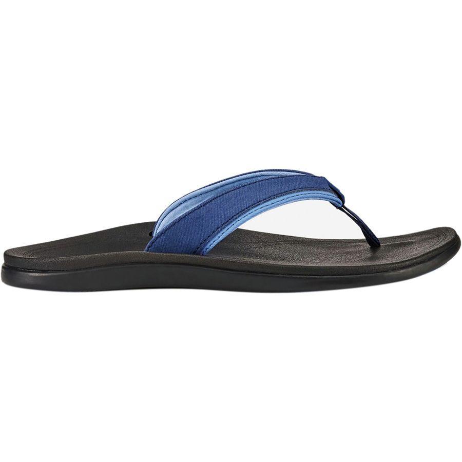 (取寄)オルカイ レディース プヌア フリップ フロップ Olukai Women Punua Flip Flop Navy/Black