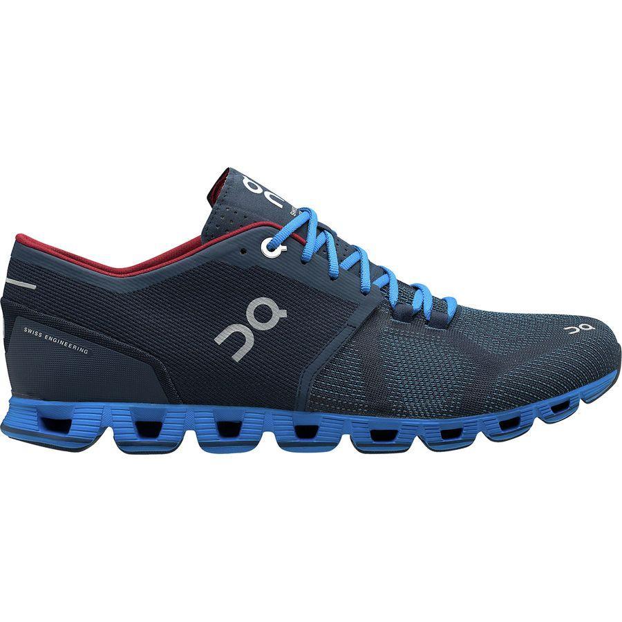 (取寄)オン ランニング メンズ クラウド X ランニングシューズ ON Running Men's Cloud X Running Shoe Midnight/Cobalt