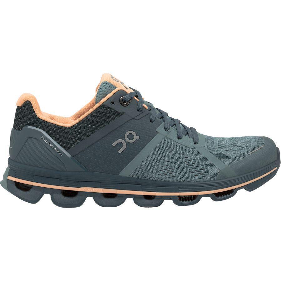 (取寄)オン ランニング レディース クラウドエース ランニングシューズ ON Running Women Cloudace Running Shoe Sea/Almond