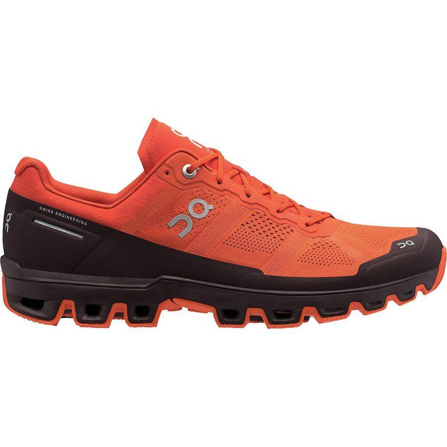 (取寄)オン ランニング メンズ クラウドベンチャー トレイル ランニングシューズ ON Running Men's Cloudventure Trail Running Shoe Flare/Dawn