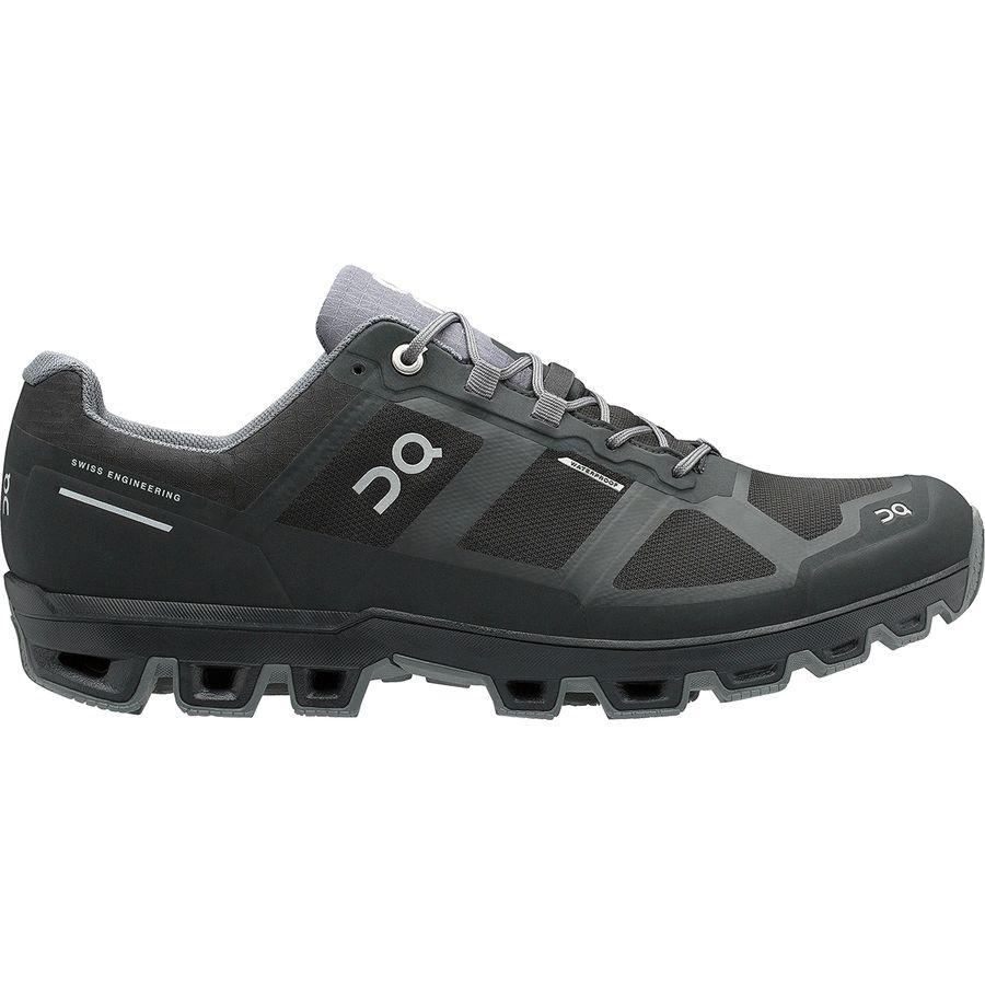 【クーポンで最大2000円OFF】(取寄)オン ランニング メンズ クラウドベンチャー トレイル ラン シューズ ON Running Men's Cloudventure Trail Run Shoe Black/Graphit