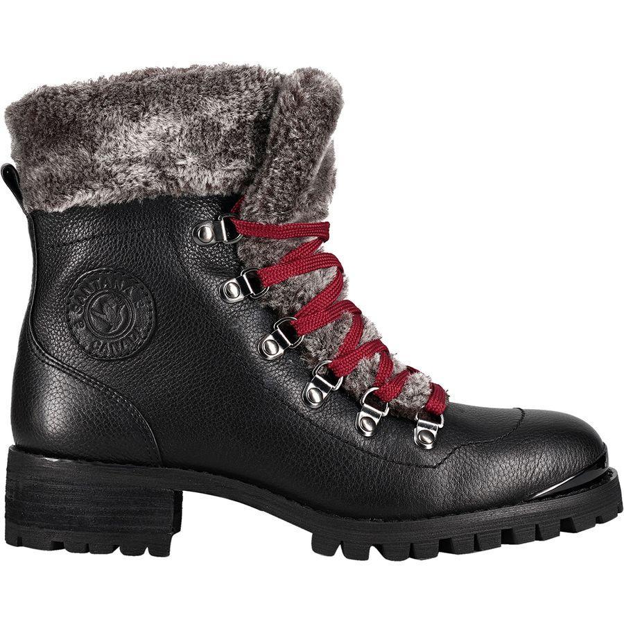 (取寄)サンタナカナダ レディース ニコ ブーツ Santana Canada Women Niko Boot Black/Burgundy