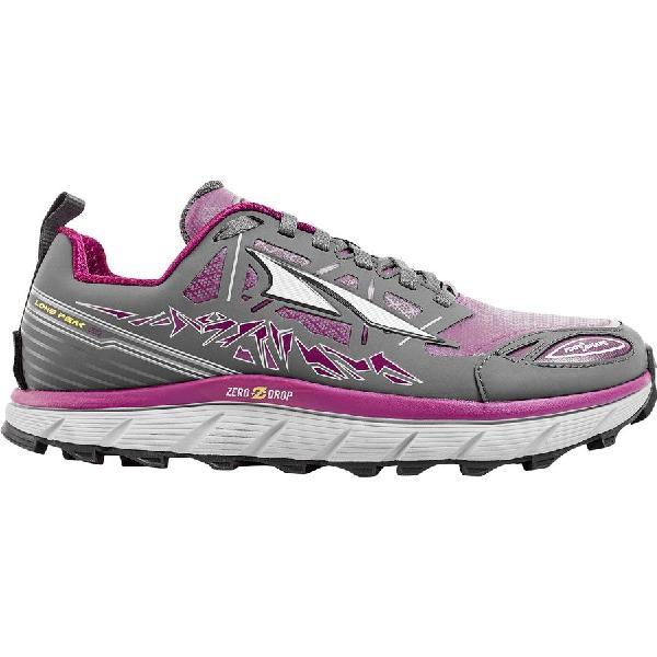 (取寄)アルトラ レディース ローン ピーク 3.0ロウ ネオ トレイル ランニングシューズ Altra Women Lone Peak 3.0 Low Neo Trail Running Shoe Gray/Purple