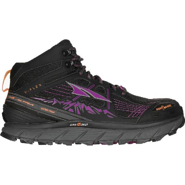 (取寄)アルトラ レディース ローン ピーク 3.5ミッド メッシュ トレイル ランニングシューズ Altra Women Lone Peak 3.5 Mid Mesh Trail Running Shoe Purple/Orange