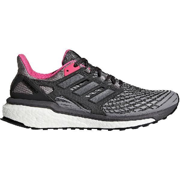 (取寄)アディダス レディース エネルギー、エナジー ブースト ランニングシューズ Adidas Women Energy Boost Running Shoe Grey Three/Utility Black/Grey Four