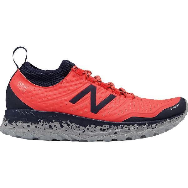 (取寄)ニューバランス レディース スニーカー 赤 フレッシュ フォーム イエロ トレイル ランニングシューズ New Balance Women Fresh Foam Hierro Trail Running Shoe Vivid Coral