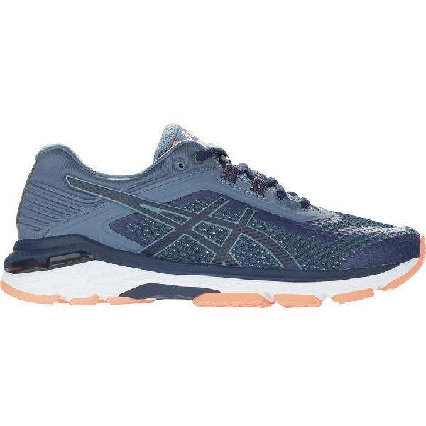 (取寄)アシックス レディース GT-20006 ランニングシューズ Asics Women GT-2000 6 Running Shoe Indigo Blue/Indigo Blue/Smoke Blue