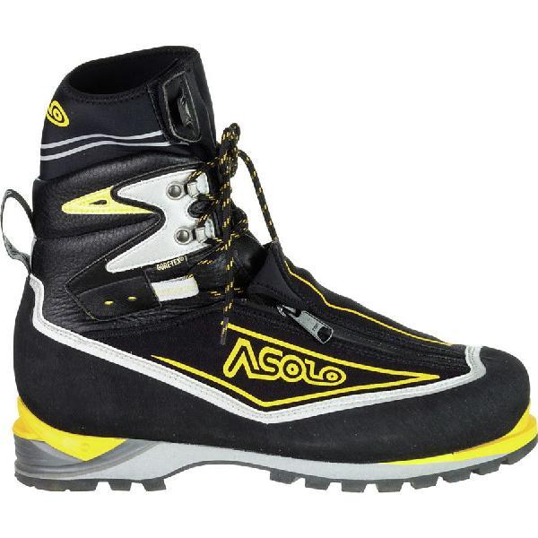 (取寄)アゾロ メンズ アイガー GV マウンテニアリング ブーツ Asolo Men's Eiger GV Mountaineering Boot Black/Yellow
