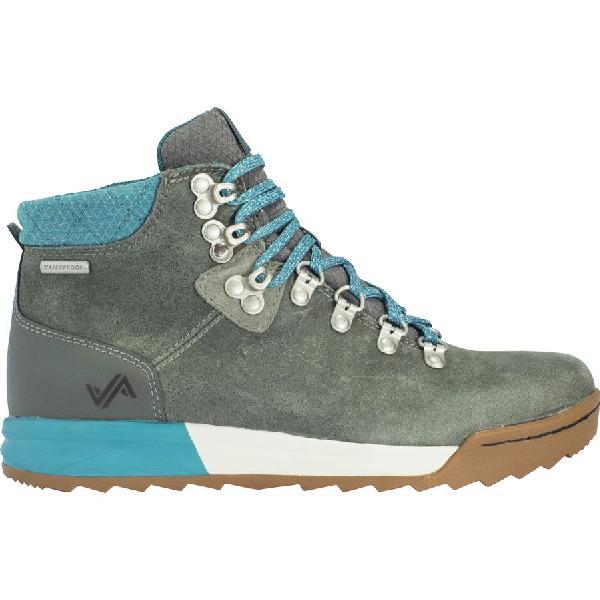 (取寄)フォーセイク レディース パッチ ハイキング ブーツ Forsake Women Patch Hiking Boot Grey/Ocean