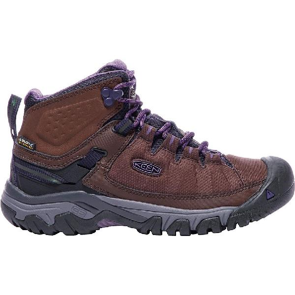 (取寄)キーン レディース ターギー Exp ミッド ブーツ KEEN Women Targhee Exp Mid Boot French Roast/Purple Plumeria