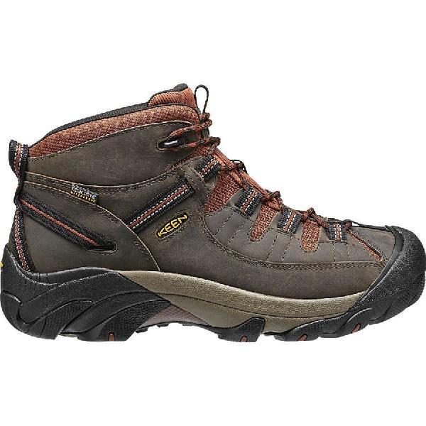 (取寄)キーン メンズ ターギー 2 ミッド ハイキング ブーツ KEEN Men's Targhee II Mid Hiking Boot Raven/Tortoise Shell