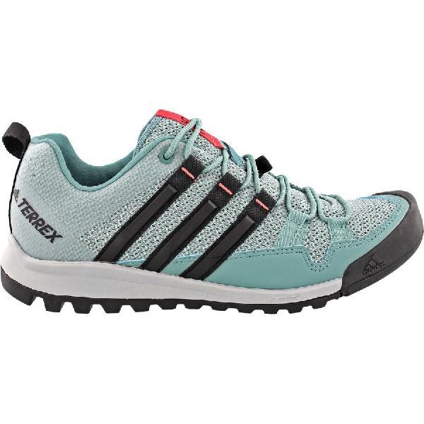 (取寄)アディダス レディース アウトドア テレックス ソロ アプローチ シューズ Adidas Women Outdoor Terrex Solo Approach Shoe Clear Onix/Vapour Steel/Black