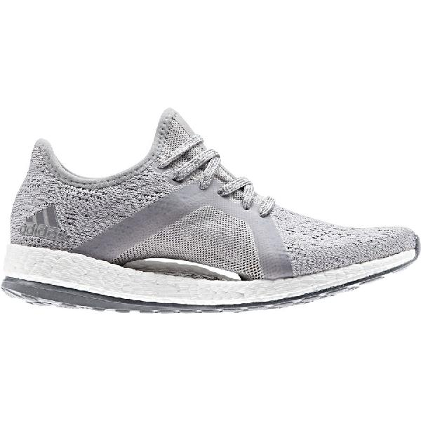 (order) Adidas lady s pure boost X element running shoes Adidas Women  Pureboost X Element Running Shoe Grey Two Grey Three Blue afe129803