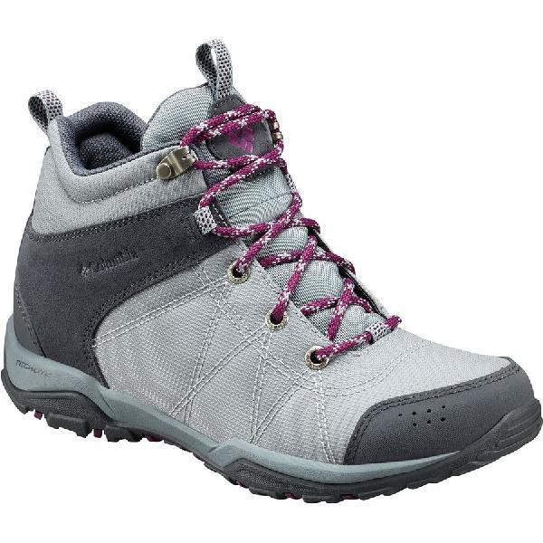 (取寄)コロンビア レディース ファイアー ベンチャー ミッド テキスタイル ハイキング ブーツ Columbia Women Fire Venture Mid Textile Hiking Boot Earl Grey/Dark Raspberry