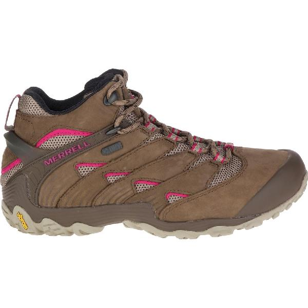 (取寄)メレル レディース カメレオン 7ミッド ブーツ Merrell Women Chameleon 7 Mid Boot Merrell Stone