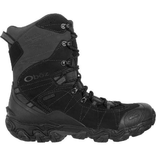 (取寄)オボズ メンズ ブリッガー 10inインサレーテッド B-Dry ブーツ Oboz Men's Bridger 10in Insulated B-Dry Boot Carbon Black
