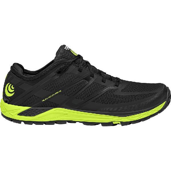 (取寄)トポアスレチック メンズ ランベンチャーズ 2 トレイル ランニングシューズ Topo Athletic Men's Runventure 2 Trail Running Shoe Black/Green