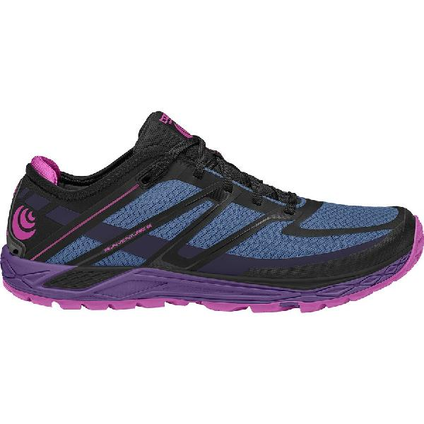 (取寄)トポアスレチック レディース ランベンチャーズ 2 トレイル ランニングシューズ Topo Athletic Women Runventure 2 Trail Running Shoe Stone/Plum