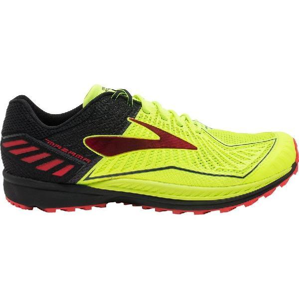 (取寄)ブルックス メンズ マザマ トレイル ランニングシューズ Brooks Men's Mazama Trail Running Shoe Nightlife/Black/High Risk Red