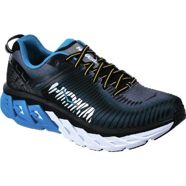 (取寄)ホカ オネオネ メンズ アラヒ 2 ランニングシューズ Hoka One One Men's Arahi 2 Running Shoe Black/Charcoal Gray