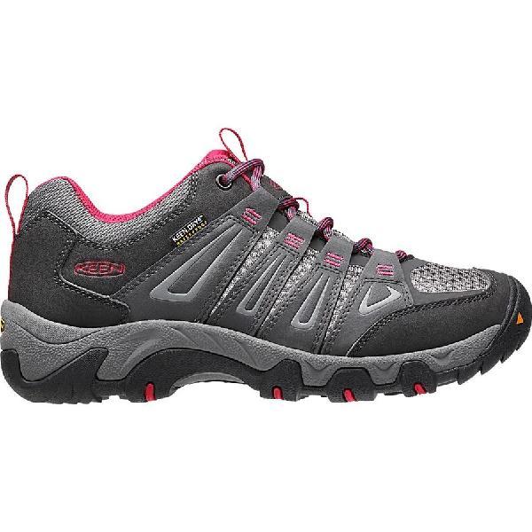 (取寄)キーン レディース オークリッジ ハイキングシューズ KEEN Women Oakridge Hiking Shoe Magnet/Rose