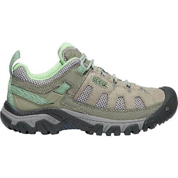 【クーポンで最大2000円OFF】(取寄)キーン レディース ターギー ベント ハイキングシューズ KEEN Women Targhee Vent Hiking Shoe Fumo/Quiet Green