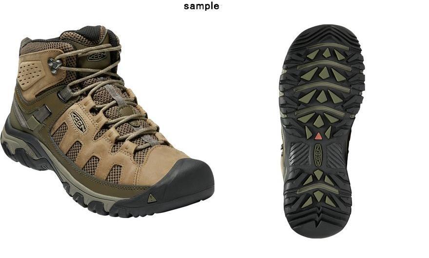 1497ccc319b (order) Kean men Targhee vent mid hiking boots KEEN Men's Targhee Vent Mid  Hiking Boot Olivia/Bungee Cord