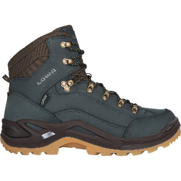 (取寄)ローバー メンズ レネゲード Gtx ミッド ハイキング ブーツ Lowa Men's Renegade GTX Mid Hiking Boot Navy/Honey