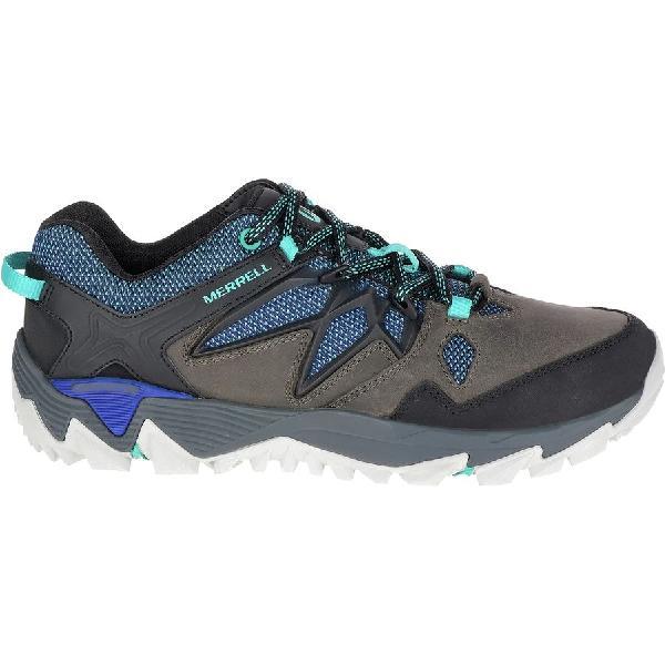 (取寄)メレル レディース オール アウト ブレイズ 2 ハイキングシューズ Merrell Women All Out Blaze 2 Hiking Shoe Pewter/Mazrine Blue