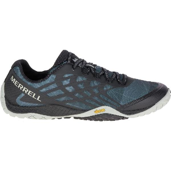 (取寄)メレル レディース トレイル グローブ 4 ランニングシューズ Merrell Women Trail Glove 4 Running Shoe Black