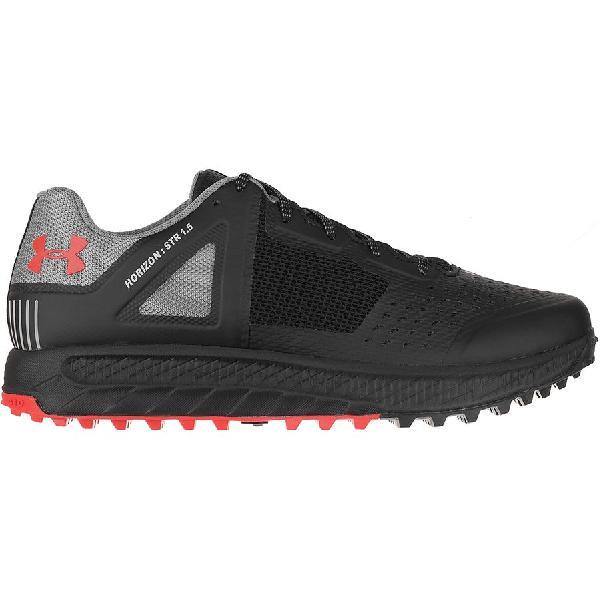 (取寄)アンダーアーマー メンズ ホライズン STR 1.5 ハイキングシューズ Under Armour Men's Horizon STR 1.5 Hiking Shoe Black/Zinc Gray/Sultry