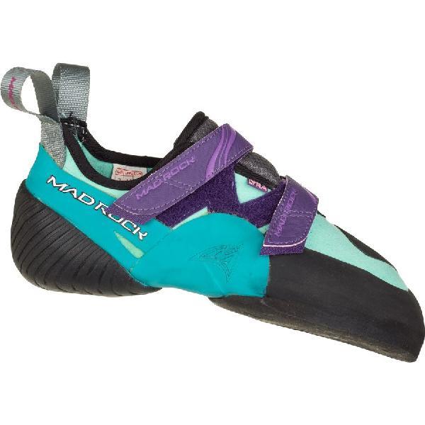 (取寄)マッドロック レディース ライラ クライミング シューズ Mad Rock Women Lyra Climbing Shoe Teal/Purple 【コンビニ受取対応商品】