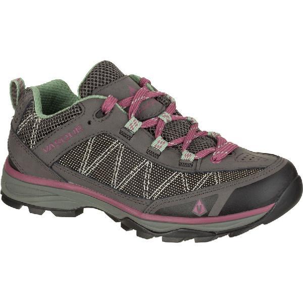 (取寄)バスク レディース モノリス ロウ ハイキングシューズ Vasque Women Monolith Low Hiking Shoe Magnet/Damson 【コンビニ受取対応商品】