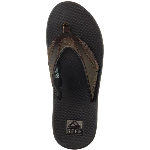 ffe9f15f81c5 (Get CDN) reef men s leather fanning Flip Flip flop Reef Men s Fanning Flip  Flop Brown 02P05Nov16