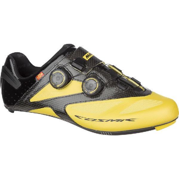 (取寄)マヴィック メンズ コスミック アルティメット 2ワイド シューズ Mavic Men's Cosmic Ultimate II Wide Shoes Yellow Mavic/Black 【コンビニ受取対応商品】