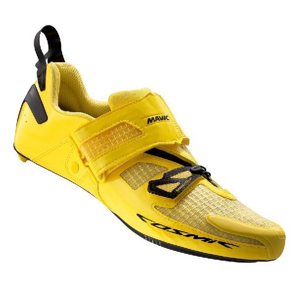 (取寄)マヴィック メンズ コスミック アルティメット トライ シューズ Mavic Men's Cosmic Ultimate Tri Shoes Yellow Mavic/Black 【コンビニ受取対応商品】