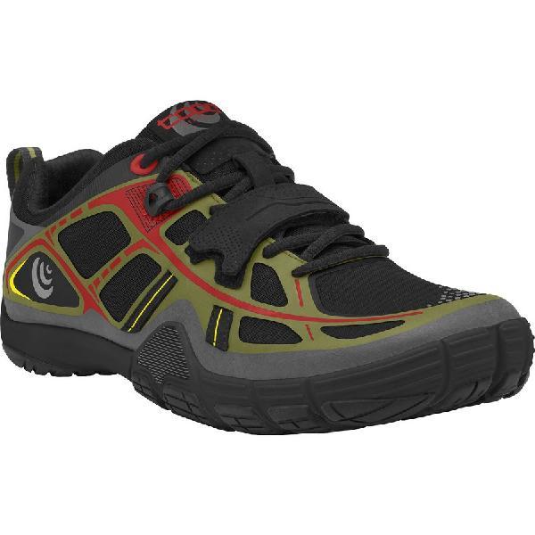 (取寄)トポアスレチック メンズ ヘルサ シューズ Topo Athletic Men's Halsa Shoe Olive/Red 【コンビニ受取対応商品】