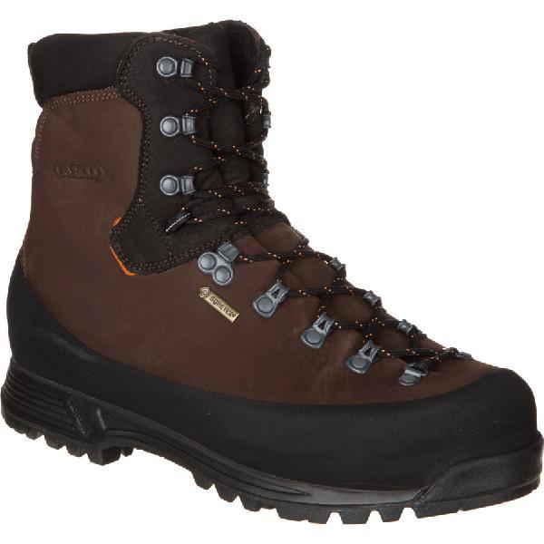 (取寄)AKU メンズ ユタ トップ GTX バックパッキング ブーツ AKU Men's Utah Top GTX Backpacking Boot Brown 【コンビニ受取対応商品】