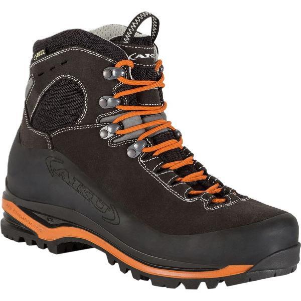 (取寄)AKU メンズ Superalp GTX バックパッキング ブーツ AKU Men's Superalp GTX Backpacking Boot Anthracite-Orange 【コンビニ受取対応商品】