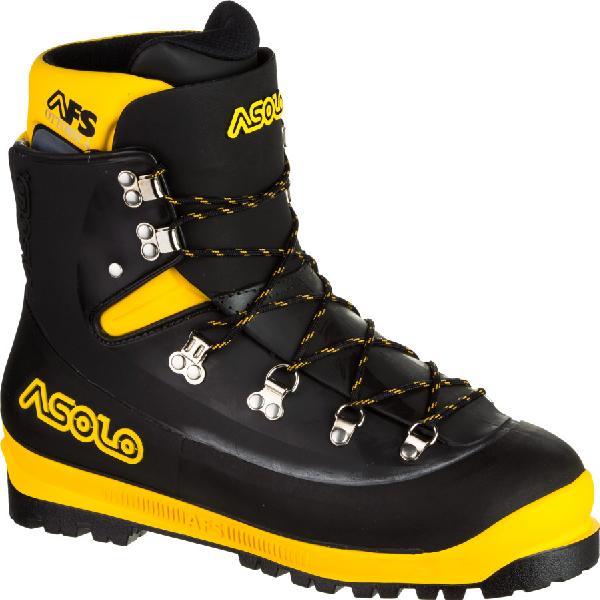 (取寄)アゾロ メンズ AFS 8000 マウンテニアリング Asolo Men's AFS 8000 Mountaineering Boot Black/Yellow 【コンビニ受取対応商品】