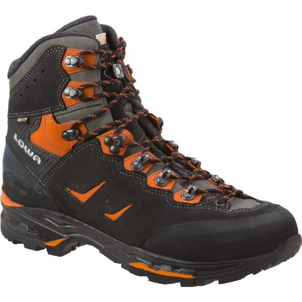 (取寄)ローバー メンズ カミノ GTX フレックス バックパッキング ブーツ Lowa Men's Camino GTX Flex Backpacking Boot Black/Orange 【コンビニ受取対応商品】