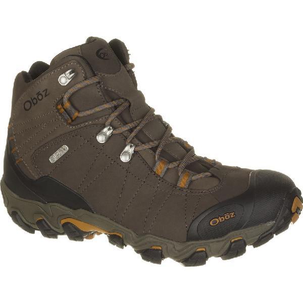 (取寄)オボズ メンズ ブリッガー ミッド ビ-ドライ ハイキング ブーツ Oboz Men's Bridger Mid BDry Hiking Boot Sudan 【コンビニ受取対応商品】