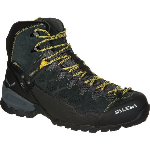 (取寄)サレワ メンズ アルプ トレーナー ミッド GTX ハイキング ブーツ Salewa Men's Alp Trainer Mid GTX Hiking Boot Carbon/Ringlo 【コンビニ受取対応商品】