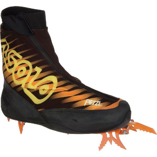 (取寄)アゾロ メンズ コムプ XTペツル マウンテニアリング ブーツ Asolo Men's Comp XT Petzl Mountaineering Boot Black 【コンビニ受取対応商品】