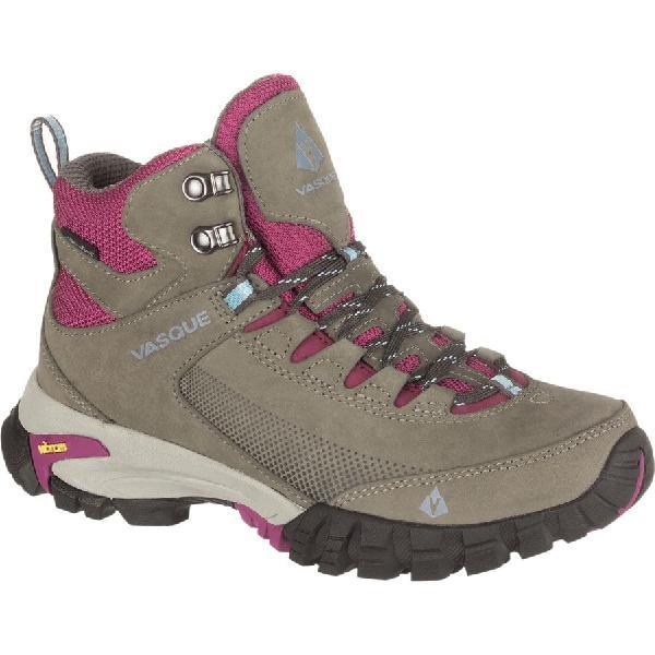 (取寄)バスク レディース タラス トレック ウルトラドライ ハイキング ブーツ Vasque Women Talus Trek UltraDry Hiking Boot Gargoyle/Damson 【コンビニ受取対応商品】