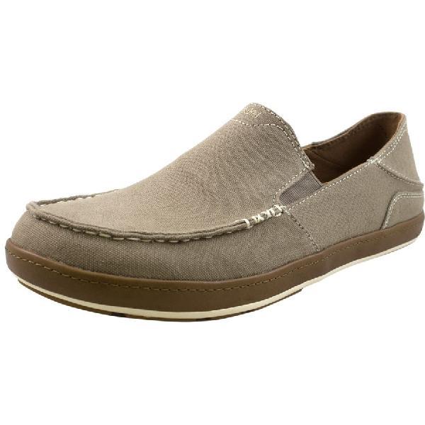 (取寄)オルカイ メンズ Puhalu キャンバス シューズ Olukai Men's Puhalu Canvas Shoe Clay/Toffee 【コンビニ受取対応商品】
