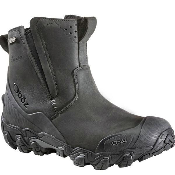 (取寄)オボズ メンズ ビッグ スカイ インサレーテッド ビ-ドライ ブーツ Oboz Men's Big Sky Insulated BDry Boot Carbon 【コンビニ受取対応商品】