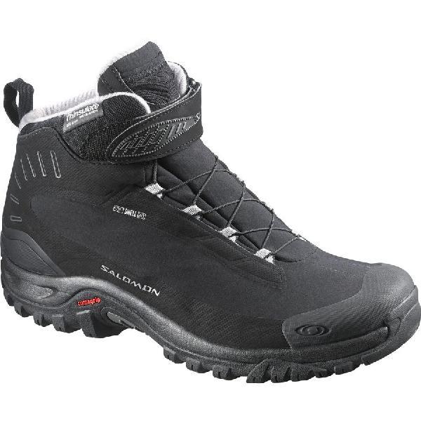 (取寄)サロモン レディース Deemax 3TS WP ブーツ Salomon Women Deemax 3 TS WP Boot Black/Black/Aluminium 【コンビニ受取対応商品】